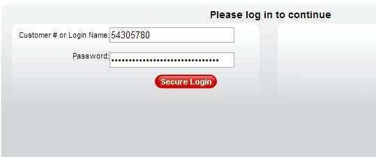 Đăng nhập vào trang quản lý domain