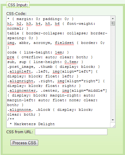 Làm nhẹ CSS