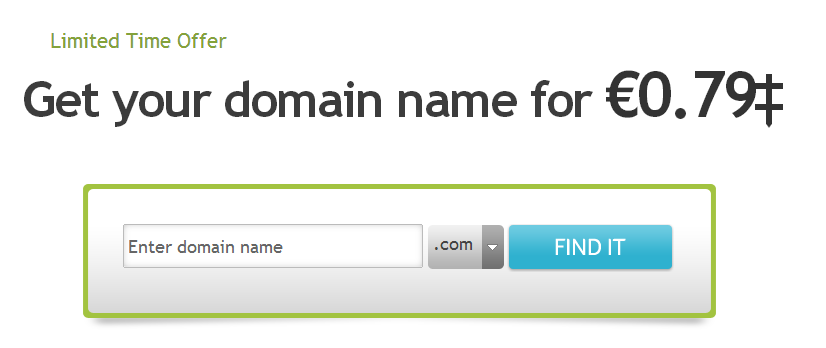 Domain khuyến mãi tại Network Solutions