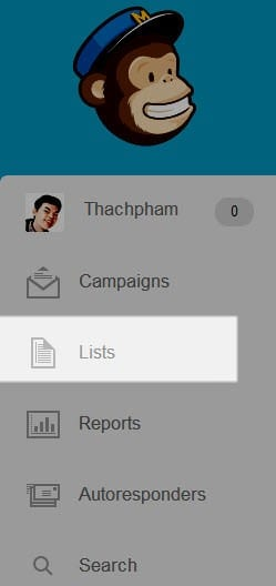 Tạo email list