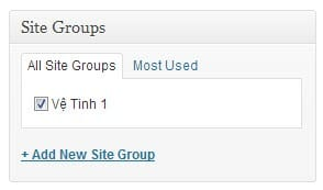 Syndicate Site Group