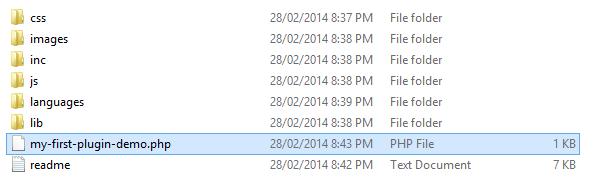 Tải các tập tin .css và .js về lưu vào thư mục của plugin