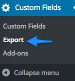 acf-export