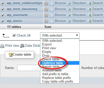 wp-database-optimizedatabase