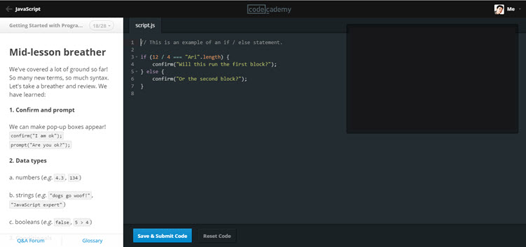 codeacademy-website