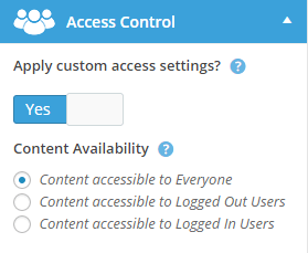 ultimatemember-access-control