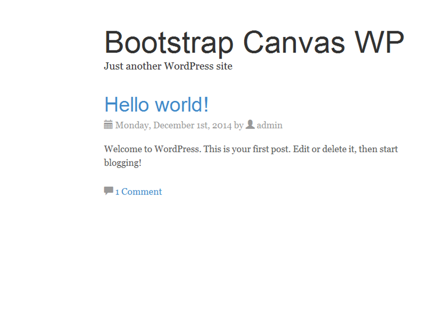 bootstrap-canvas-wp
