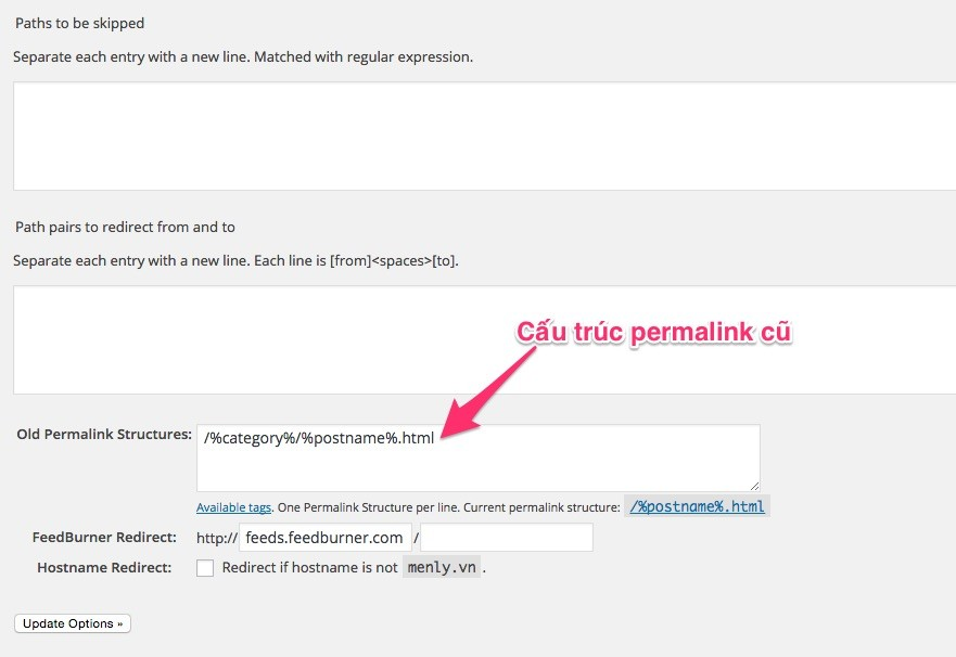 Permalink_Redirect_Manager