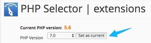 Nâng cấp lên PHP 7 trên Shared Host dùng cPanel 198